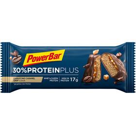 PowerBar ProteinPlus 30% Bar Box 15x55g, Cappuccino Caramel Crisp